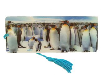 Penguins 3D Bookmark