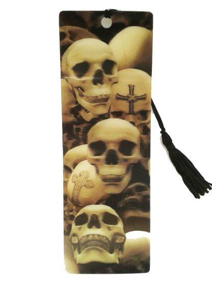 Skulls 3D Bookmark
