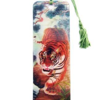 Tiger 3D Bookmark