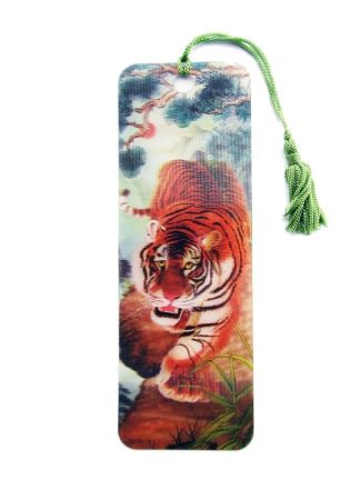 Tiger 3D Bookmark