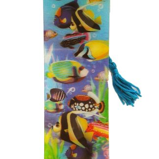 Tropical Fish 3D Bookmark