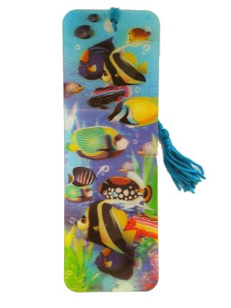 Tropical Fish 3D Bookmark