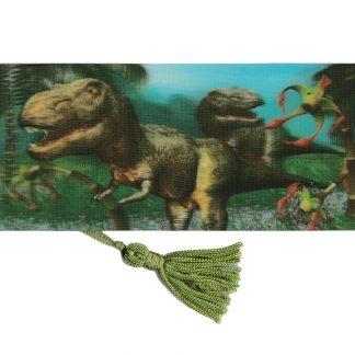 3D Dinosaur Bookmark