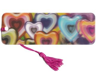 Heart 3D Bookmark
