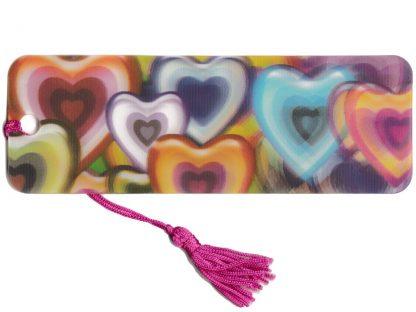 Heart 3D Bookmark