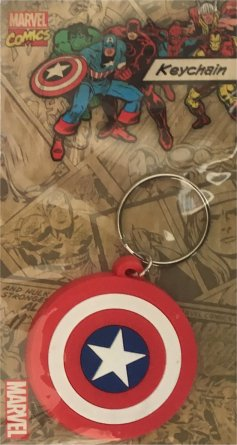 Captain America Shield - Marvel Keyring