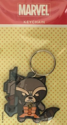 Rocket Raccoon - Marvel Keyring