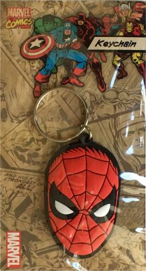 Spiderman Head - Marvel Keyring